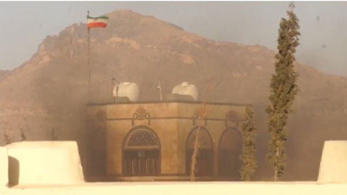 احتراق السفارة الإيرانية في صنعاء 3