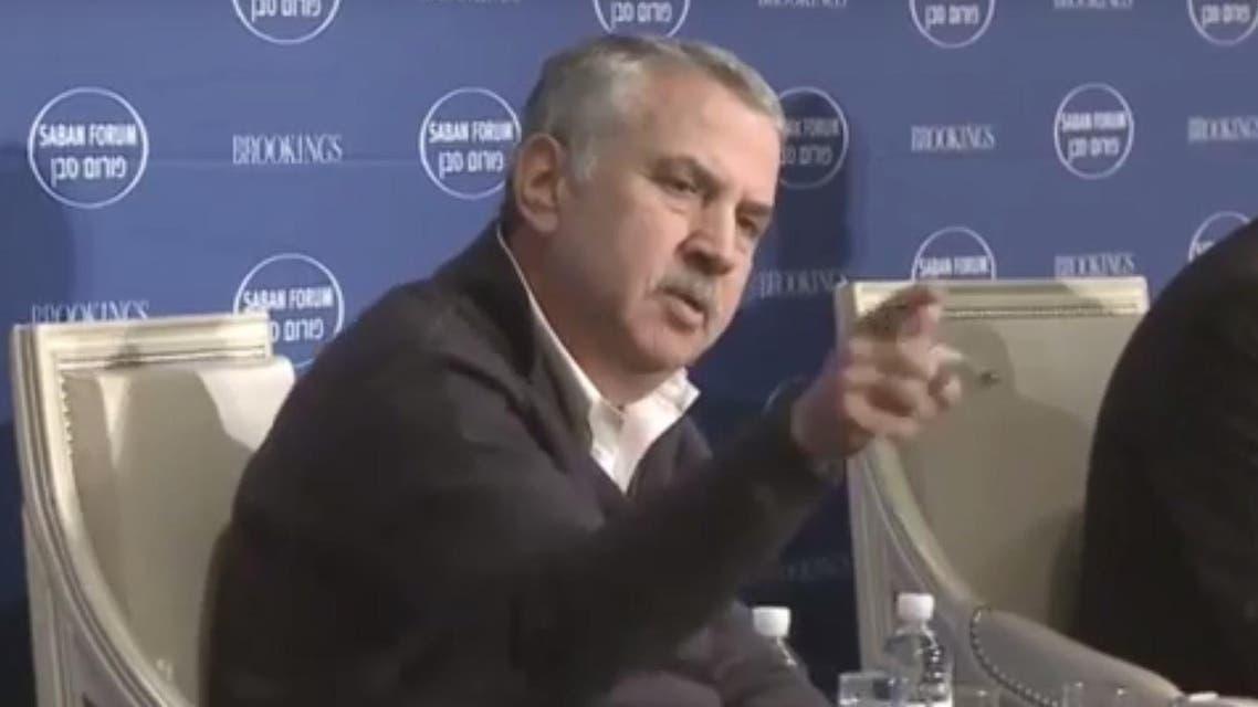 Thomas Friedman on Mohammed bin Salman at Saban summit (Screen grab)
