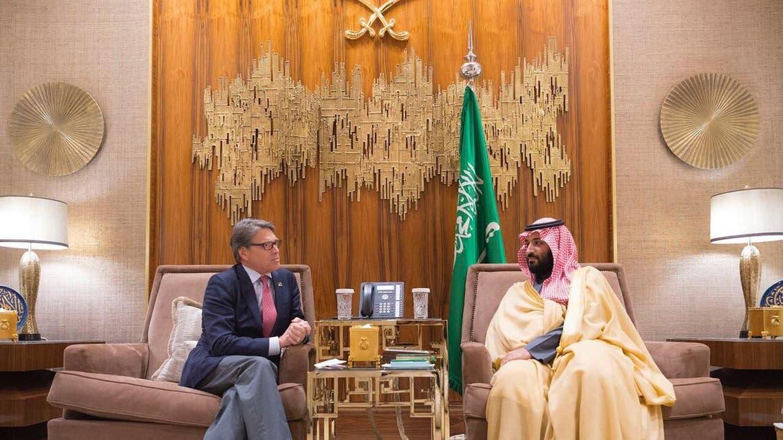Rick Perry saudi crown prince spa