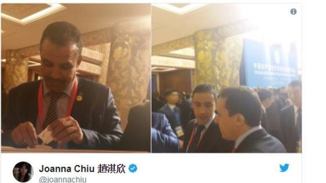 تغريد الصحافية الصينية عن التحرش