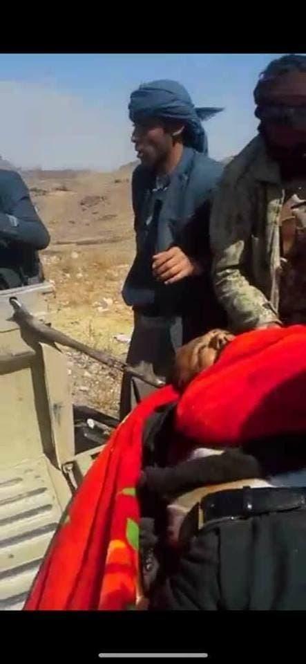 عناصر من ميليشيات الحوثي ظهروا في فيديو مقتل صالح