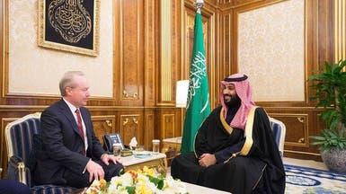"""محمد بن سلمان يتباحث ورئيس """"ريثيون"""" الصناعات العسكرية"""