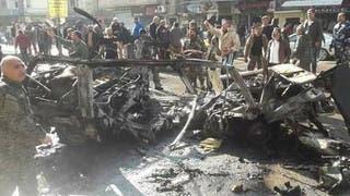 انفجار يستهدف قافلة في حمص.. وداعش يتبنى