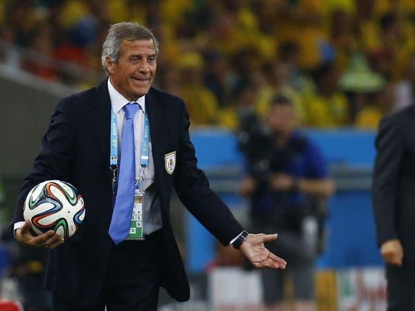 مدرب أوروغواي يثني على منتخب مصر وكوبر