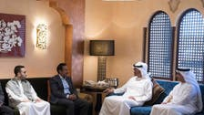ابو ظبی کے ولی عہد کا علی صالح کے بیٹے اور خاندان سے اظہارِ تعزیت