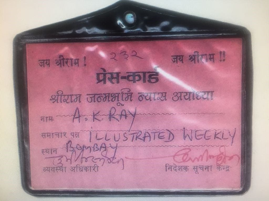 It was so intimidating and dangerous that I had assumed a Hindu name for the sake of my safety. (Supplied)