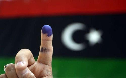 تعبيرية عن انتخابات في ليبيا (فرانس برس)