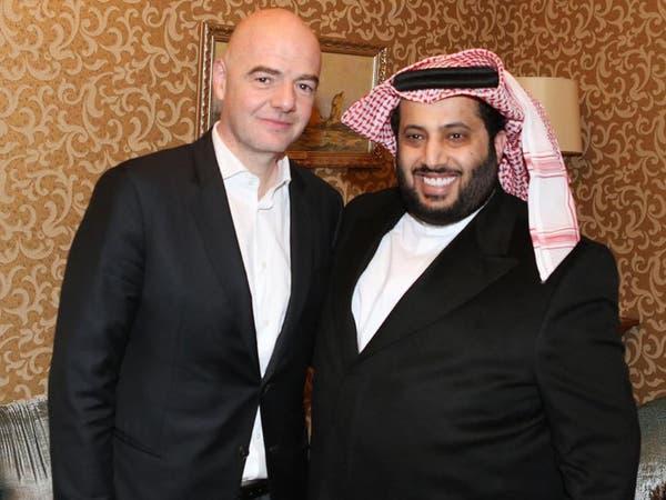 آل الشيخ وإنفانتينو يفتتحان الجلسة الرئيسية لمؤتمر دبي