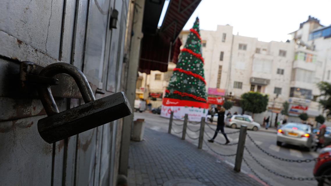 إضراب في الضفة احتجاجاً على قرار ترمب اعتبار القدس عاصمة لإسرائيل