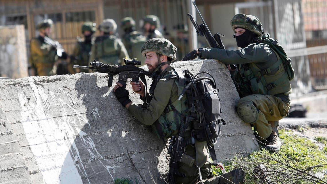 الجيش الإسرائيلي في الضفة الغربية
