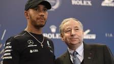 Lewis Hamilton crowned F1 champion at royal palace
