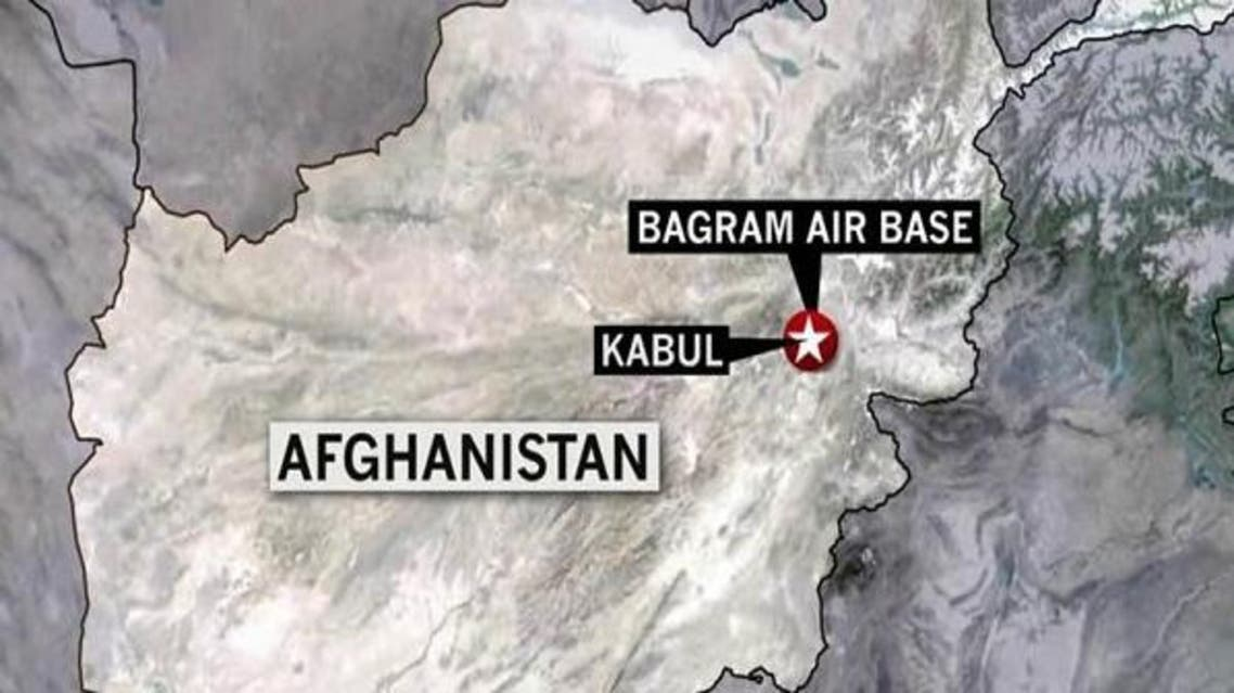 یک مخفیگاه بزرگ سلاح طالبان در بگرام افغانستان کشف شد