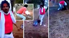 وڈیو : بھارت میں مسلمان کو ہلاک کر کے جلا دینے والا انتہا پسند ہندو