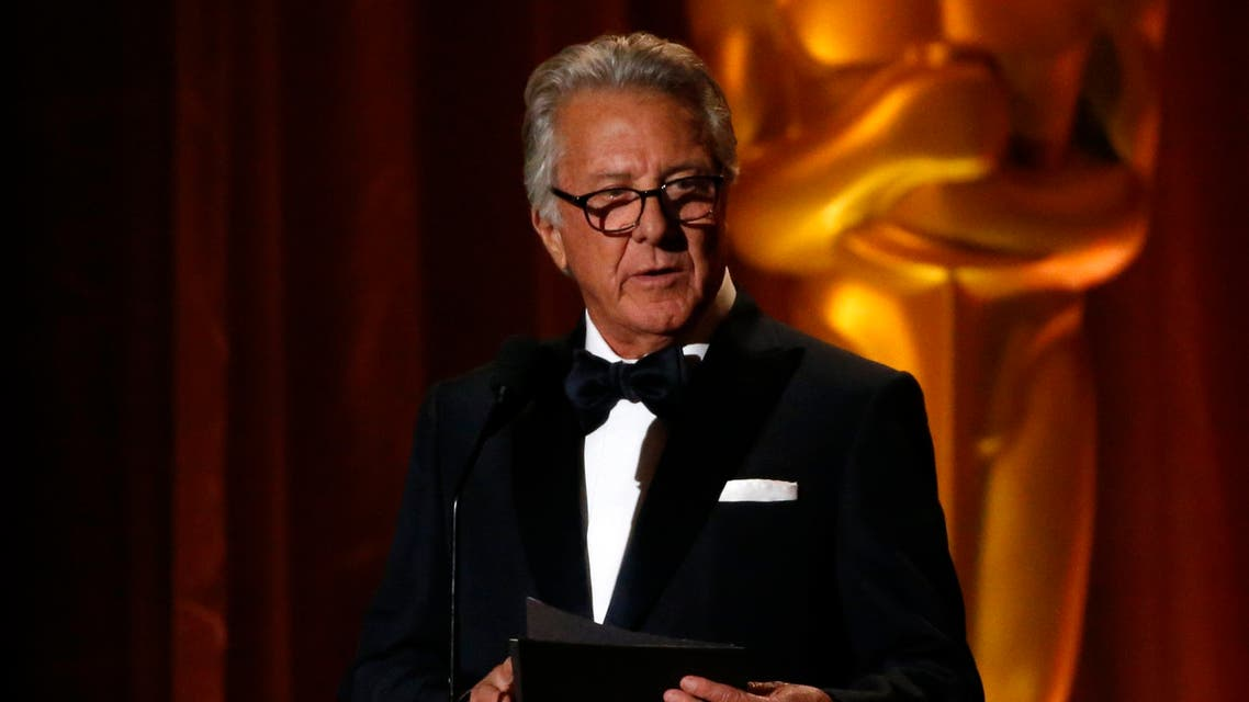 9TH Governors Awards – Show – Los Angeles, California, U.S., 11/11/2017 - Actor Dustin Hoffman speaks on stage. REUTERS/Mario Anzuoni