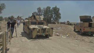 آلية عسكرية تابعة للجيش العراقي