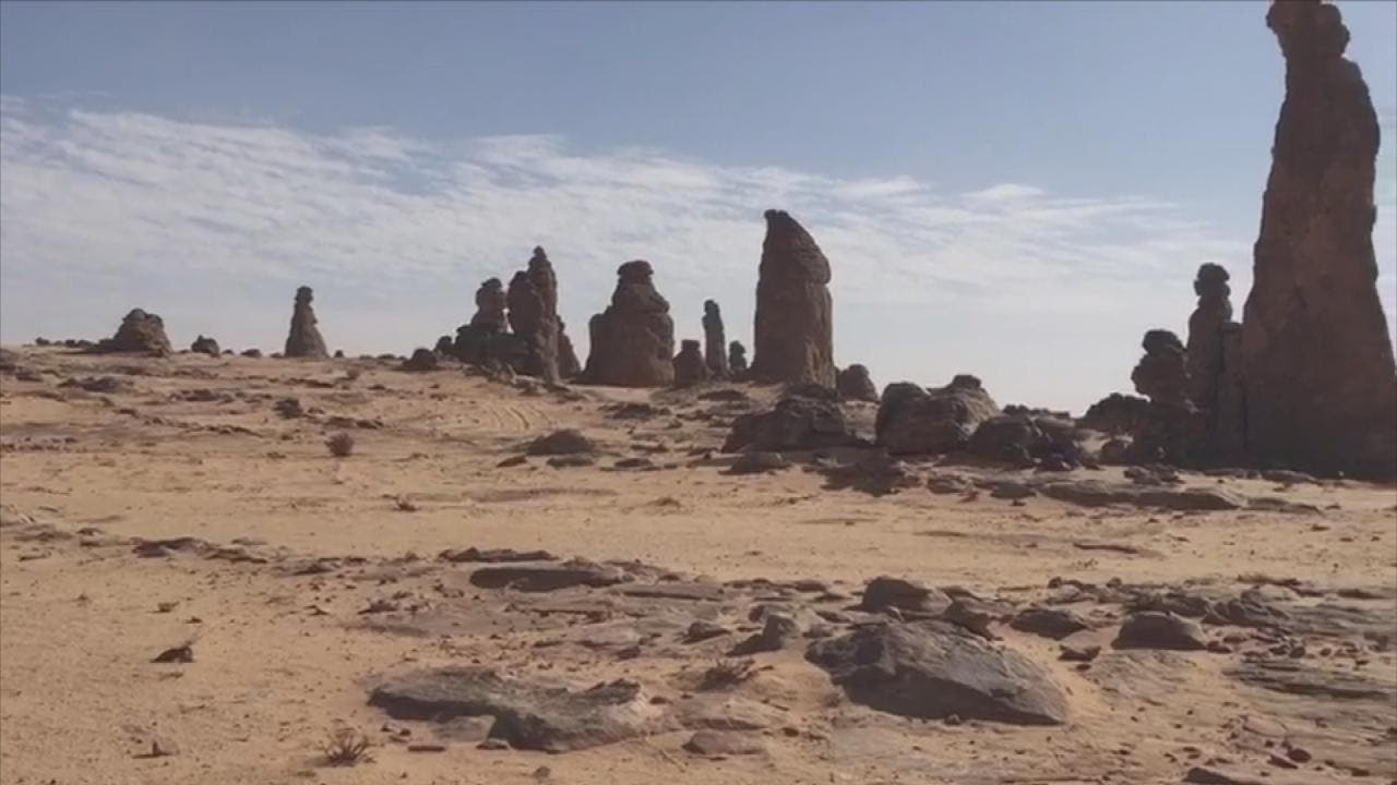 THUMBNAIL_ ماذا تبقى من جبل عملاق شمال السعودية؟