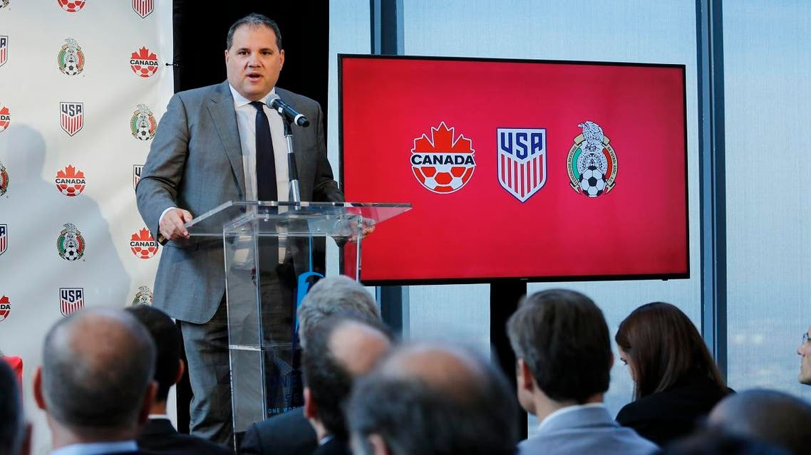 The United States, Mexico and Canada announced a joint bid to stage the 2026 World Cup. (AFP)