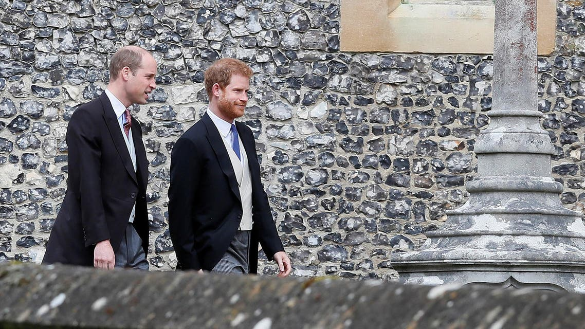 Prince William and Prince Harry. (Reuters)