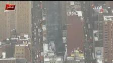 New York police report blast near Times Square