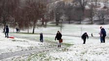 Snow shuts runways, disrupts flights across UK