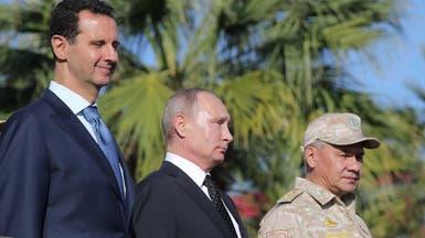 بوتين في قاعدة حميميم .. وأمر ببدء سحب القوات الروسية