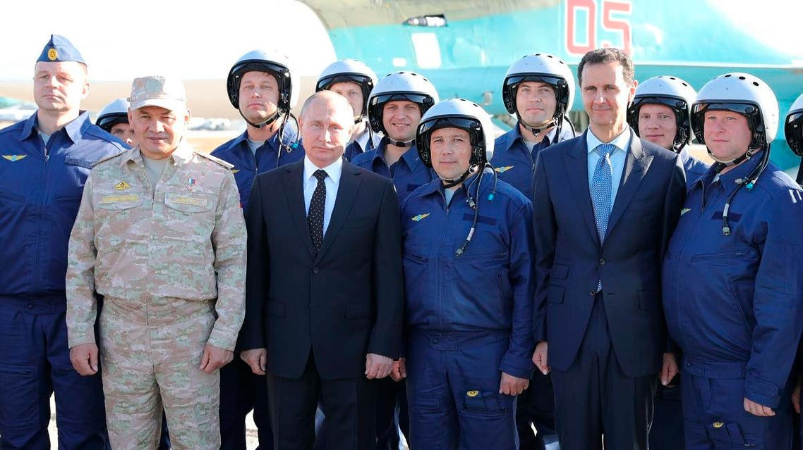 Declaring a victory in Syria, Putin on Monday visited a Russian military air base in the country and announced a partial pullout of Russian forces from the Mideast nation. (AP)