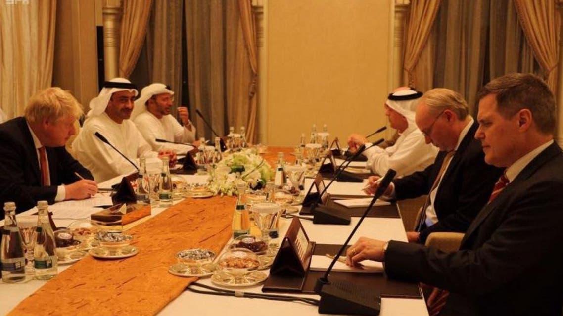 اجتماع الرباعية الدولية في ابوظبي