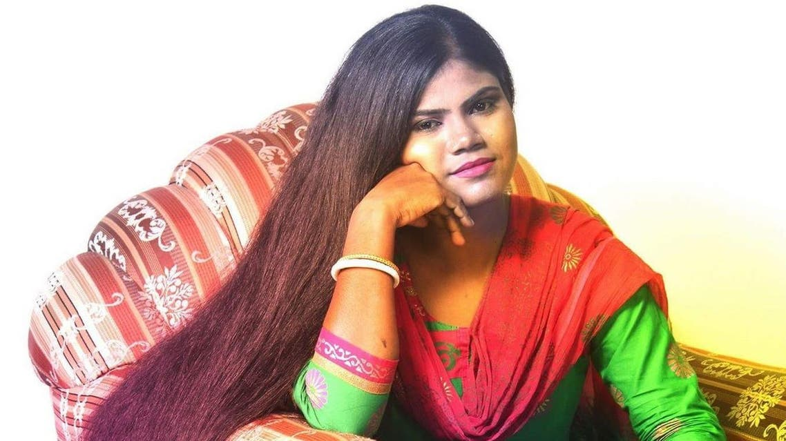 Alpana Mandal lets her hair down – literally. (Supplied)