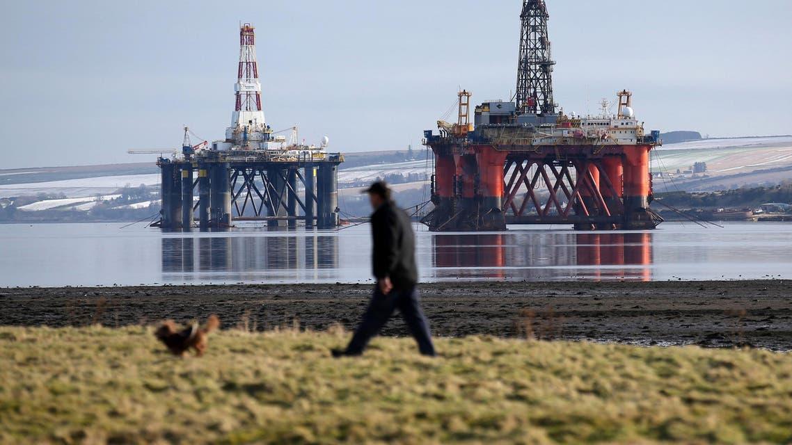 Oil pipeline UK. (AP)