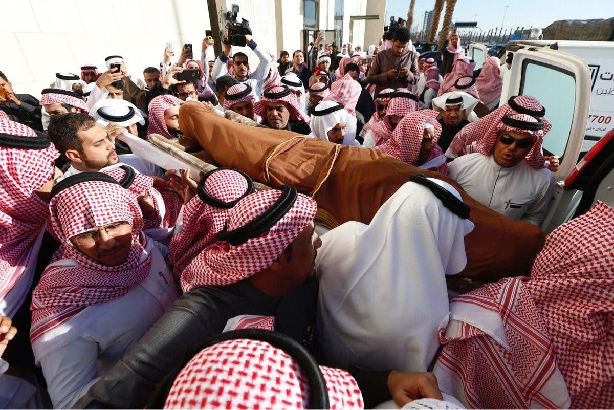 Abu Bakr Salem funeral