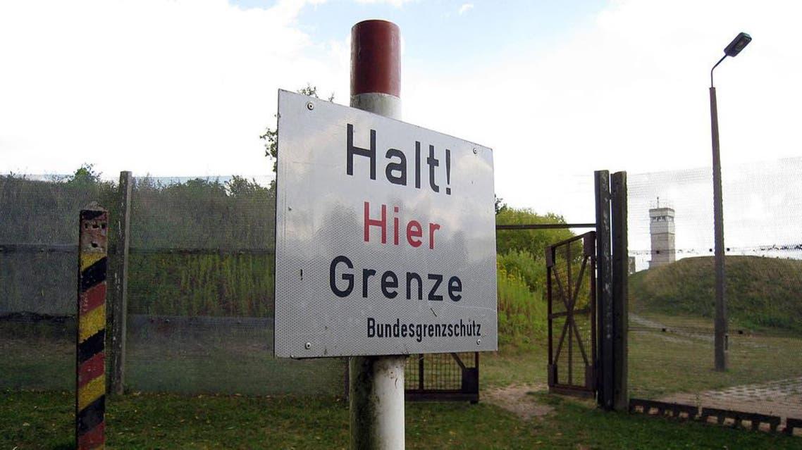 حدود ألمانيا