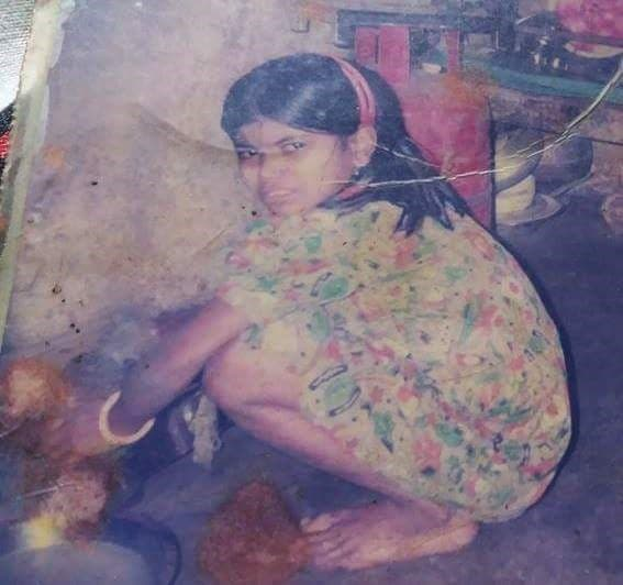 Alpana Mondal as a child worker. (Supplied)