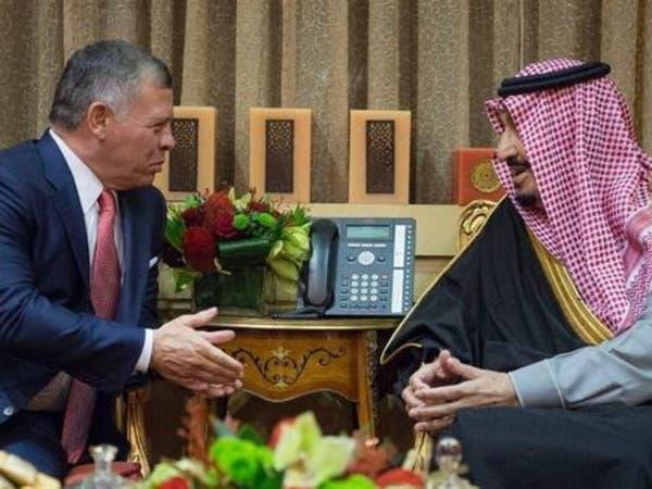 الملك سلمان لعاهل الأردن: نضع كل إمكاناتنا في خدمتكم