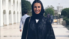 PICTURES: Wives of Real Madrid players visit Sheikh Zayed mosque, wear abayas