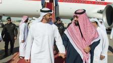 Mohammed bin Salman receives Sheikh Mohammed bin Zayed