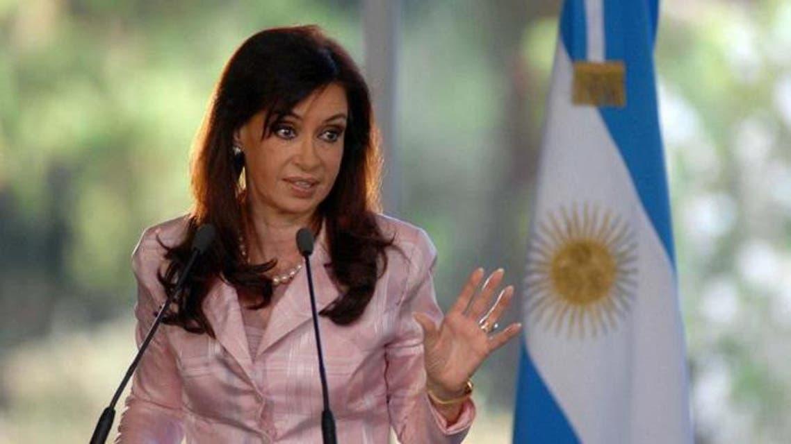 رئيسة الأرجنتين السابقة كريستينا فرنانديز