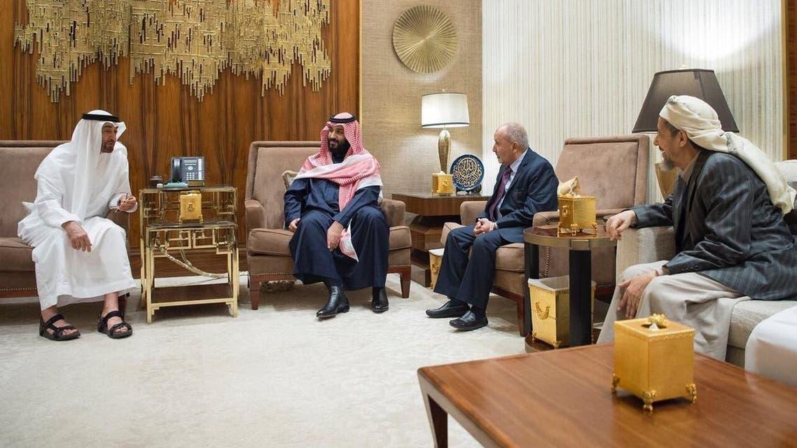 وليا عهد السعودية والإمارات يتباحثان مع رئيس حزب التجمع