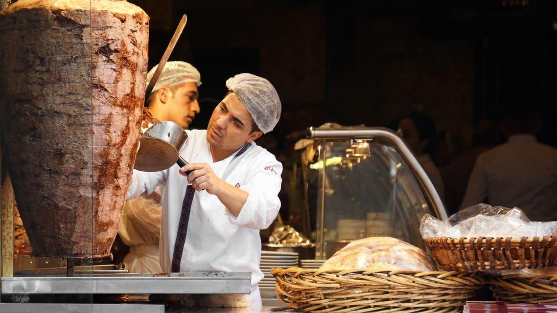 الشاورما التركية دونر كباب