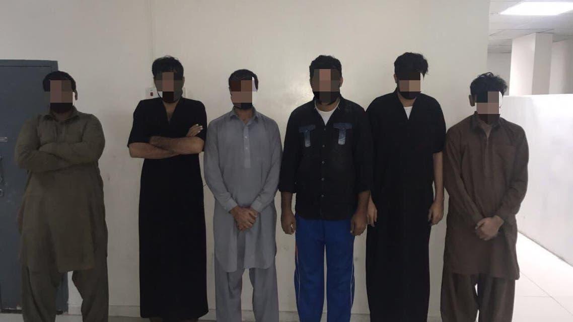 عصابة باكستانية سرقة الرياض
