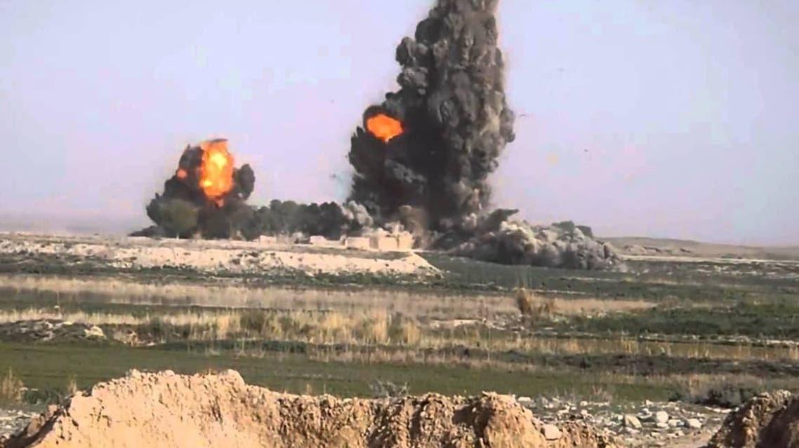 80 میلیون دالر خسارت طالبان در حملات هوایی بر مراکز تولید مواد مخدر