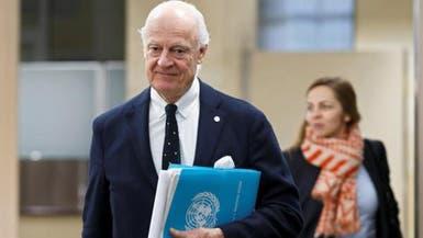 دي ميستورا يلتقي ممثلي 6 دول لبحث الأزمة السورية