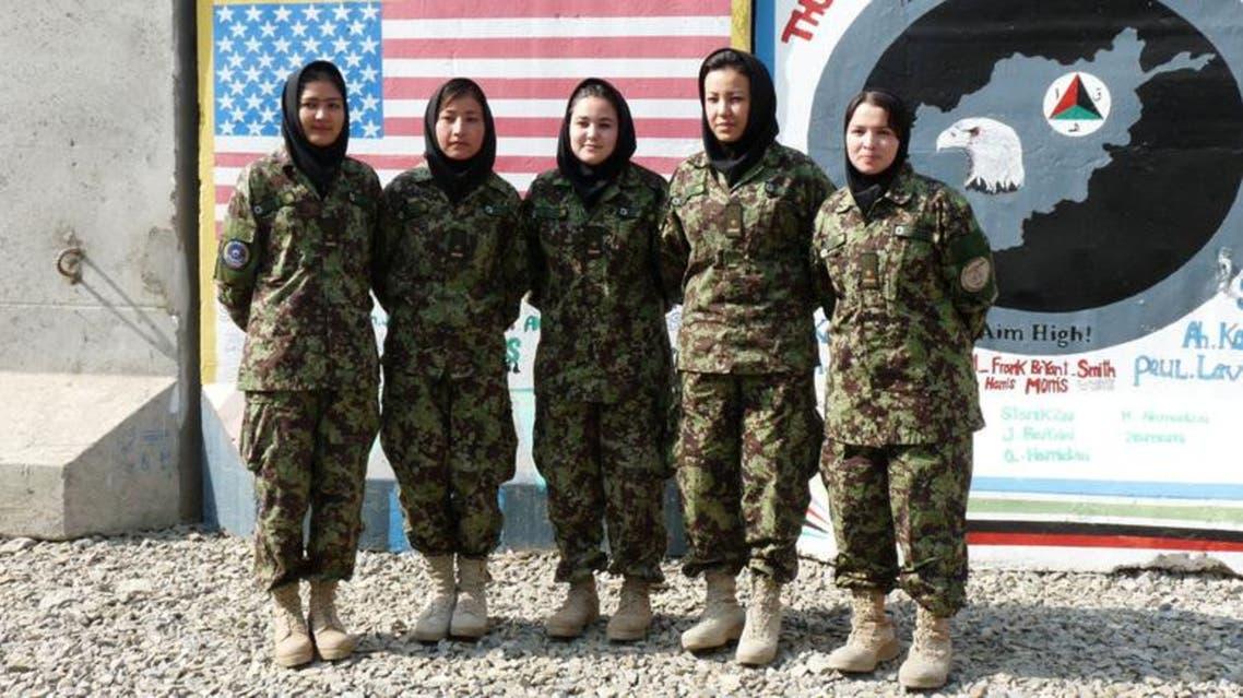 afghan women army