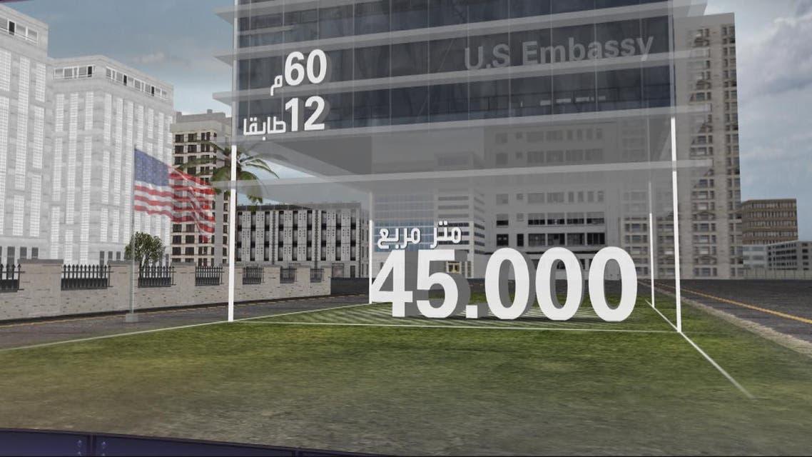 THUMBNAIL_ ما هي مواصفات مبنى السفارة الأميركية الجديد في لندن؟