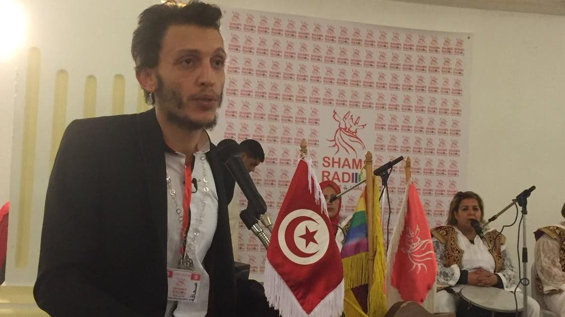 The radio station dubbed Radio Shams was launched by Association Shams, a Tunisian organization for lesbian, gay, bisexual, and transgender (LGBT) rights, with support from the Dutch embassy. (Supplied)