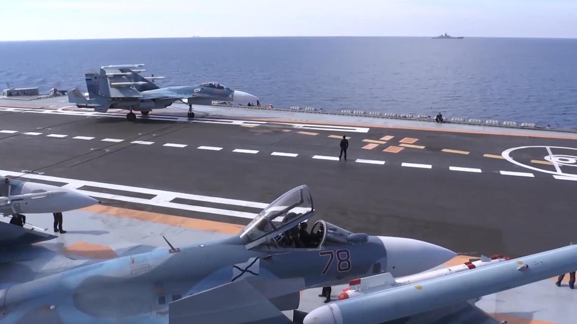 Russian fighters had flown into airspace controlled by the US-led coalition that is fighting ISIS in Syria. (AFP)