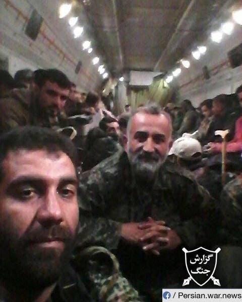 الحرس الثوري والميليشيات الأفغانية والعراقية يتم نقلهم من إيران إلى سوريا