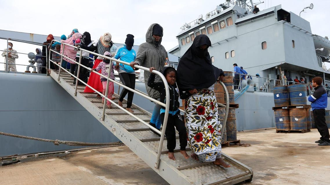 Libyan Coast Guard intercepted several boats off the coast near Qaraboulli and Zliten, two towns located east of Tripoli, saving more than 250 migrants as they try to reach Italy. (Reuters)