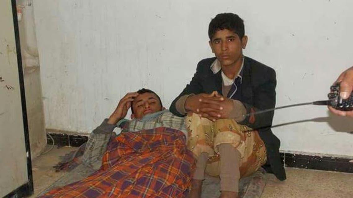 اسرى حوثيين لدى الجيش اليمني في بيحان