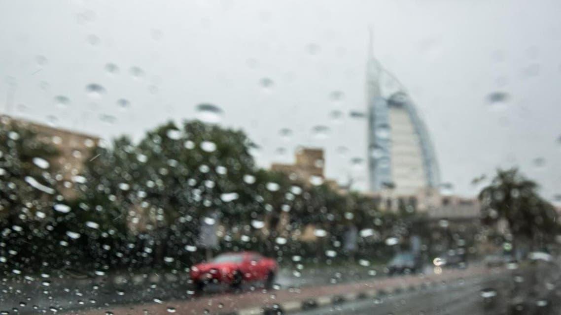 UAE rain and drizzling
