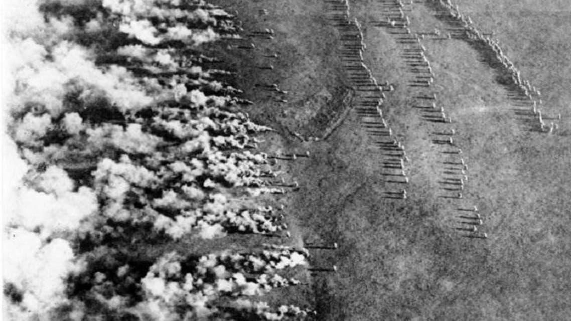 بدأ استخدام الأسلحة الكيماوية في الحرب العالمية الأولى